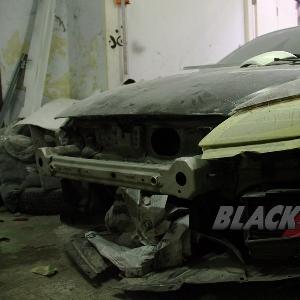 Tampak depan Mazda RX8 modifikasi