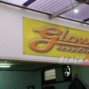 Ruang kerja mekanik Glow Auto