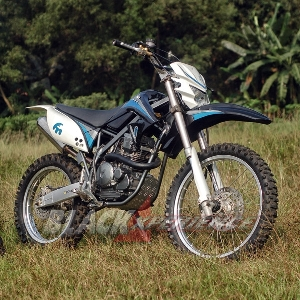 Modifikasi Yamaha Scorpio Trail Custom Nan Kekar Blackxperience Com