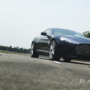 Siluet khas Aston Martin