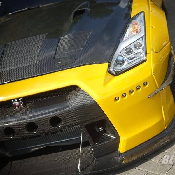 Modifikasi Nissan GTR - The Raging Godzilla!