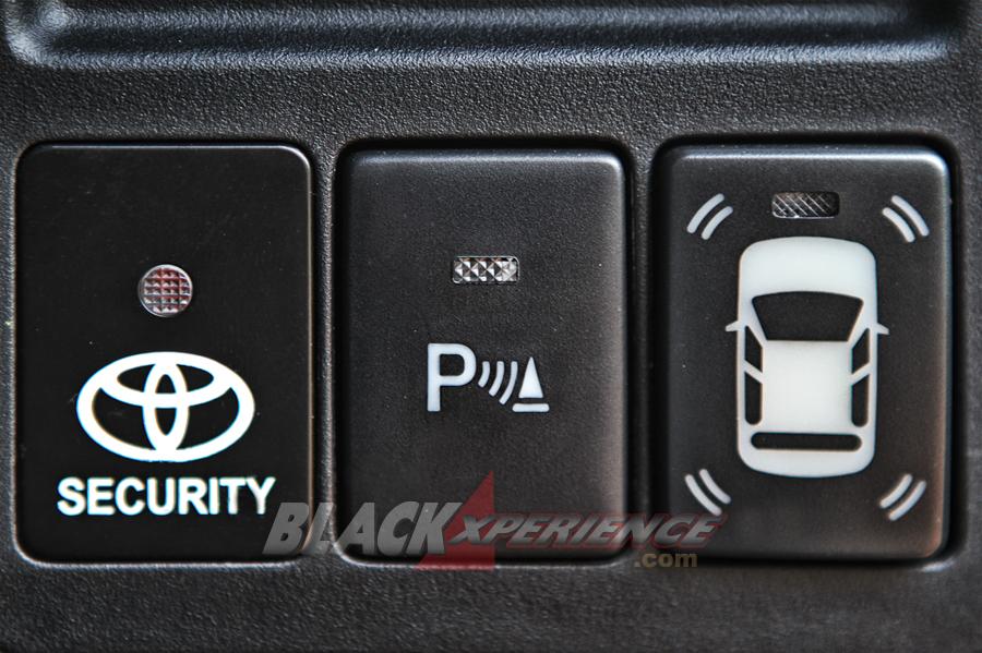 Tombol sensor depan dan parkir