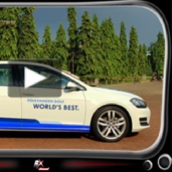 Menjajal New VW Golf MK 7 Peraih World Car of The Year 2013