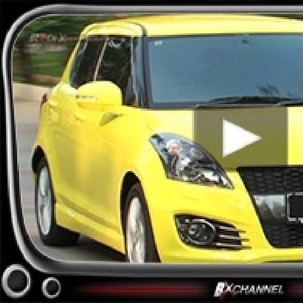New Suzuki Swift Sport, Performa Gesit dan Bergaya Sporty