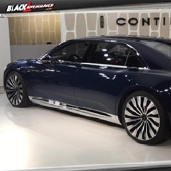 Lincoln Continental Concept 2017 Mendarat di Detroit Auto Show 2016
