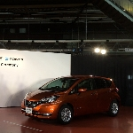 Nissan Note E 2017 Tampil Hybrid