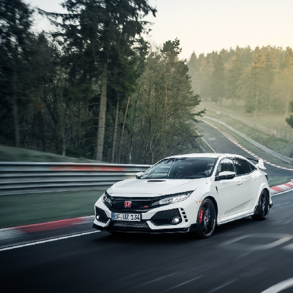 All-New Honda Civic Type R Pecahkan Rekor Nurburgring