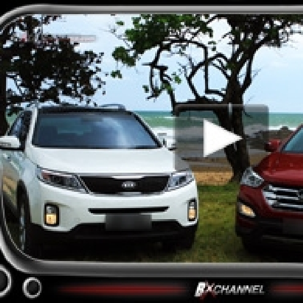 Komparasi KIA Sorento dan Hyundai Santa Fe Duel Sedarah