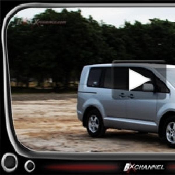 Test Drive Mitsubishi Delica MPV SUV Sporty Jadi Satu