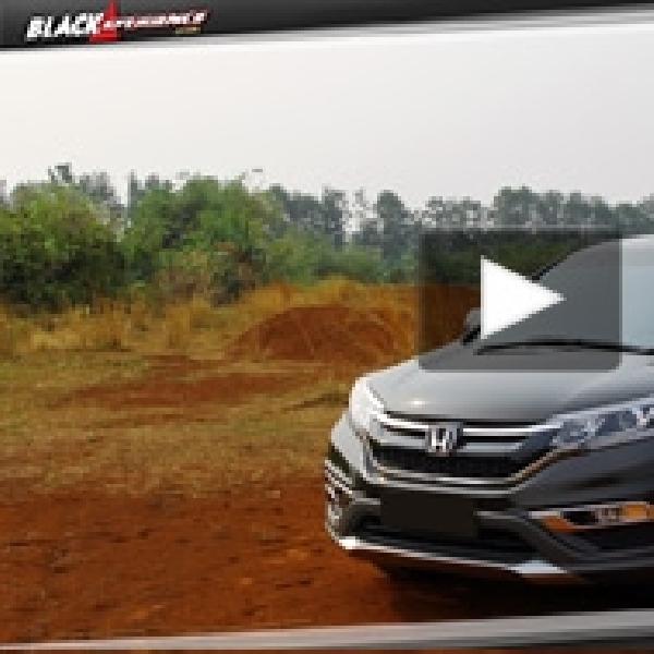 Penyempurnaan New Honda CR-V 2.4L Prestige