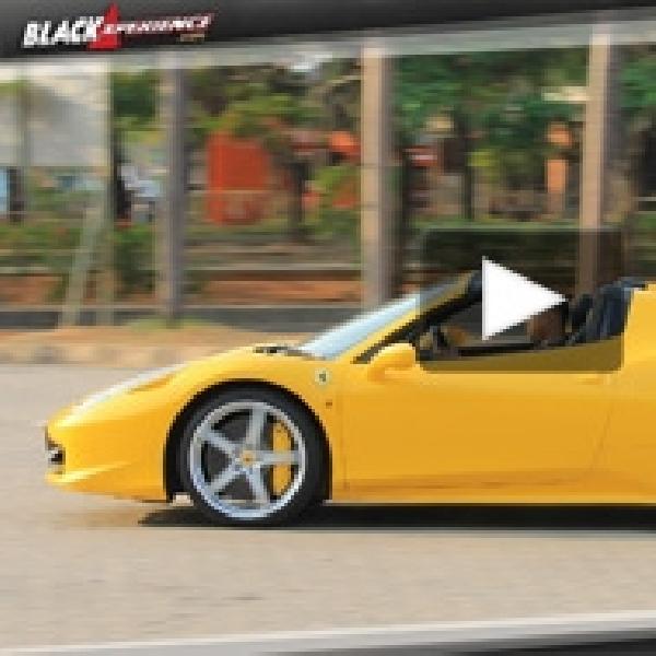 Test Drive Ferrari 458 Spider - Topless yang Menawan