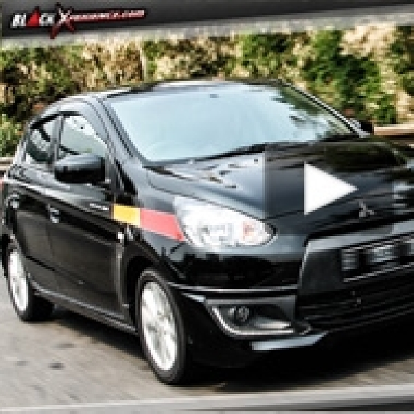 Test Drive Mitsubishi Mirage Sport - City Hunter