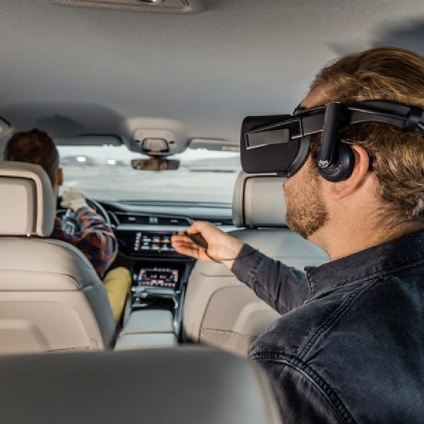 Audi dan Holoride Luncurkan VR Platform bagi Penumpang di CES 2019