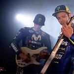MotoGP: Beginilah Rossi dan Vinales Bermain Musik Rock
