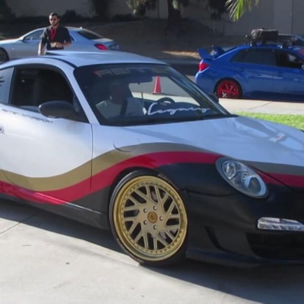 Ini Mesin LS3 dalam Wujud Porsche 911