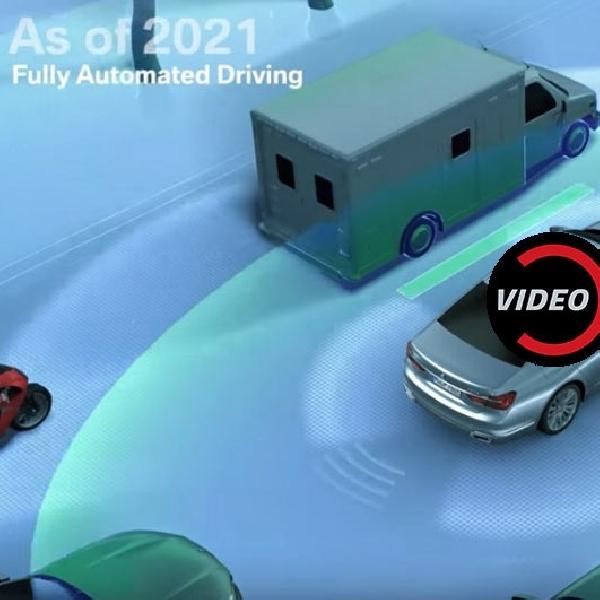 Inilah Lima Tingkat BMW Autonomous Driving