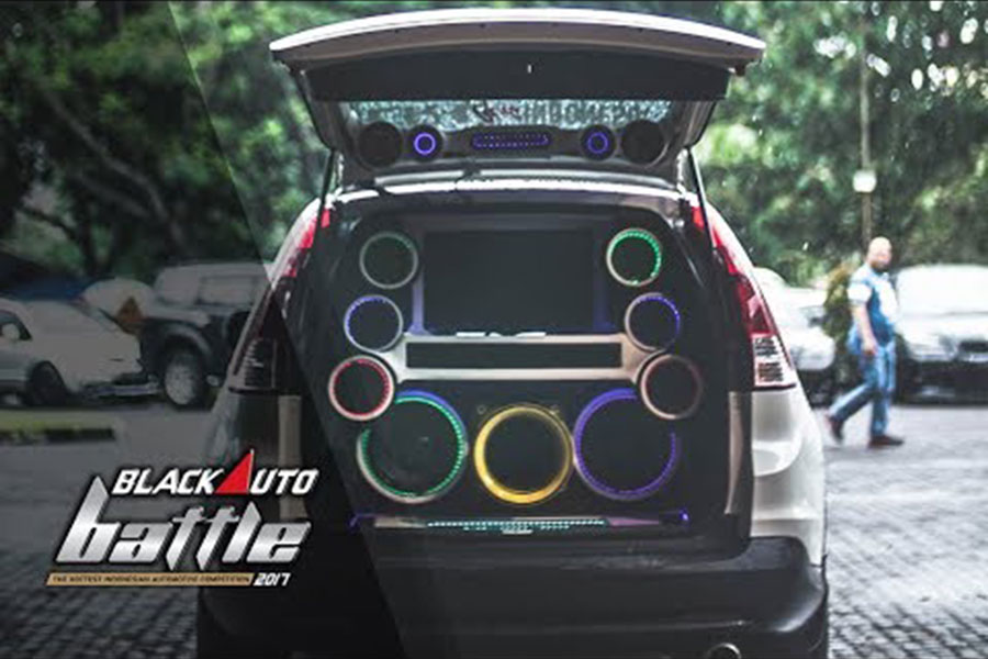 Black Out Loud at The Final BlackAuto Battle 2017 Bandung