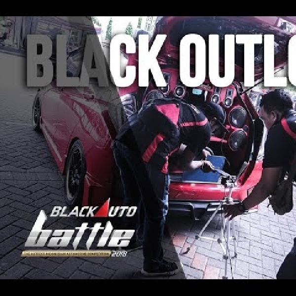 BlackOut Loud BlackAuto Battle Surabaya 2018