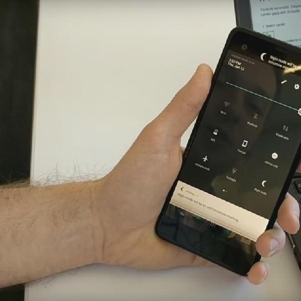 Cara Aktifkan Night Mode Ala HTC U Ultra