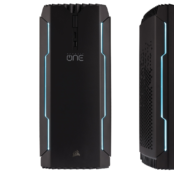 Corsair One, PC Gaming Gahar, Ukuran Separuh PC Game Biasa