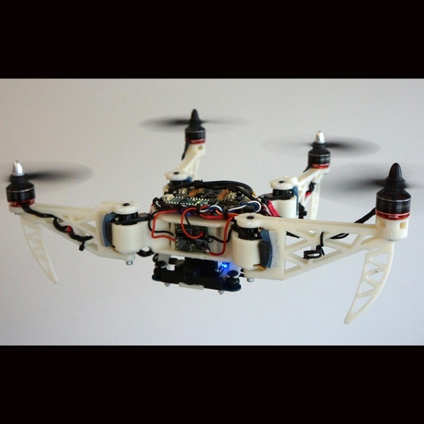 Drone Ini Bisa Berubah Bentuk Saat Terbang