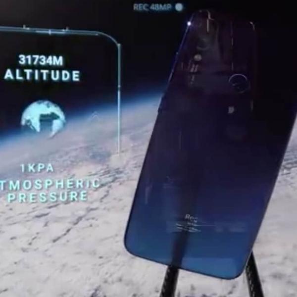 Tembus Atmosfer, Redmi Note 7 Pamer Hasil Jepretan di Luar Angkasa