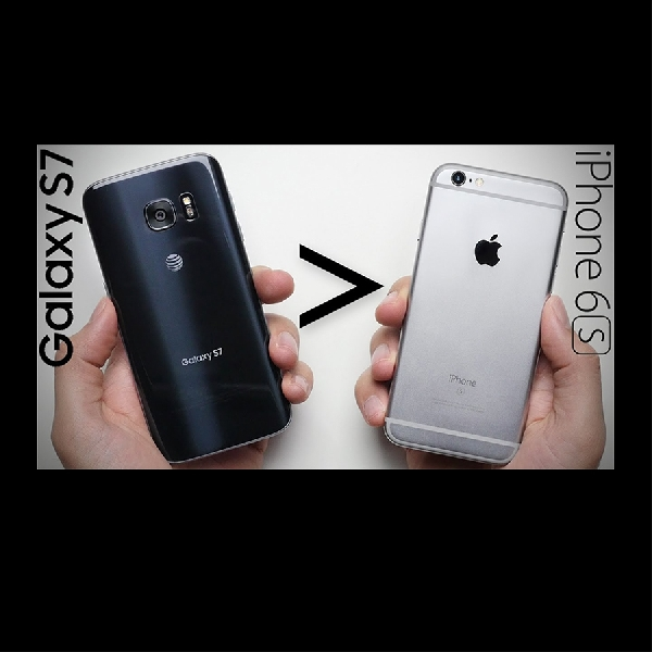 Drop Test : iPhone 6S VS Samsung Galaxy S7, Kuat Mana?