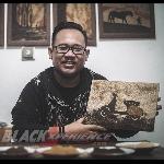 Rendy Prayogi, Ciptakan Karya Seni dari Ampas Teh