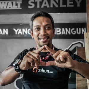 Didi Diarsa, Kreator Sepeda Kayu Bercita Rasa Indonesia