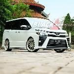 Modifikasi Toyota Voxy, Project 'Trial Error' Buahkan Van MPV nan Sporty