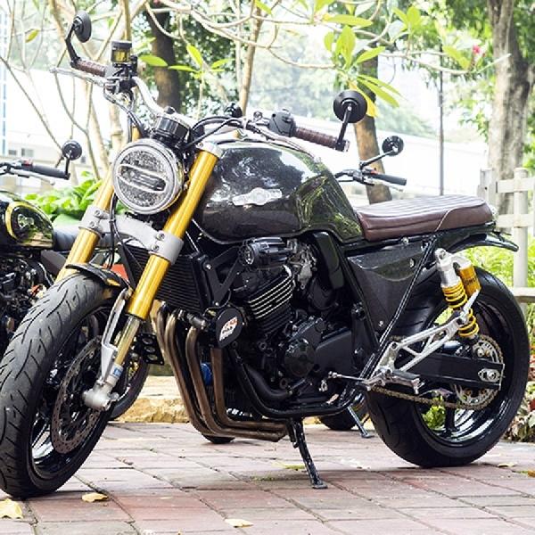Honda CB400 Lucky13 Usung Gaya Bratsyle, Elegan  dan Berkelas