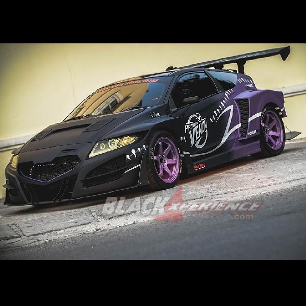 Modifikasi Honda CRZ 2010: More Than Street Racing