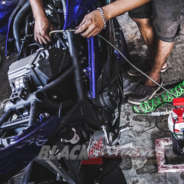 Super Maintenance Yamaha R25 2019 dan ICA System oleh JDM Project