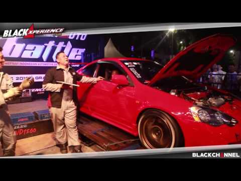 Dyno Attraction BlackAuto Battle Surabaya 2016