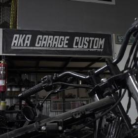 AKA Garage, Dari Hobi Ngoprek Motor Kini Jadi Cuan