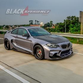 BMW M2  Extreme Slammed, Perkawinan Dua Bodykit MTC Design dan Darwin Pro