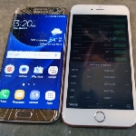 Uji Ketangguhan : Samsung Galaxy S7 Edge Vs iPhone 6s Plus, Kuat Mana?