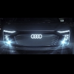 Konsep Headlight Audi Bikin Digital Matrix Light