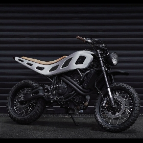 Yamaha Yardbuilt XSR700 House of Cool, Ketika Builder Mobil Dipaksa Modifikasi Motor