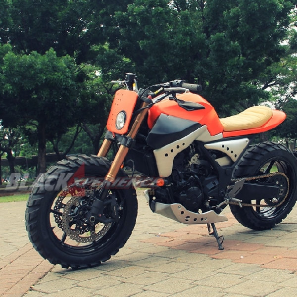 Kawasaki Z250 Scrambler Hadiah Ulang Tahun