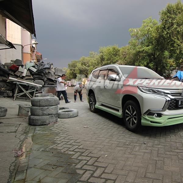 W7 Carsmetic Bikin Tampilan Mitsubishi All New Pajero Jadi Beda