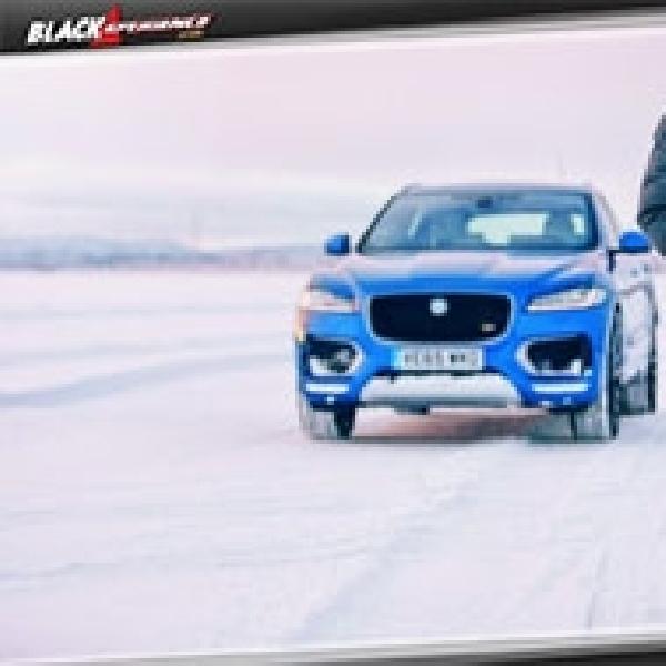 Jose Mourinho Jajal Ketanguhan Prototipe Jaguar F-Pace S