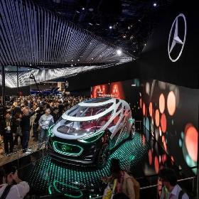 Mercedes Perkenalkan Vision Urbanetic ke Pengunjung CES 2019