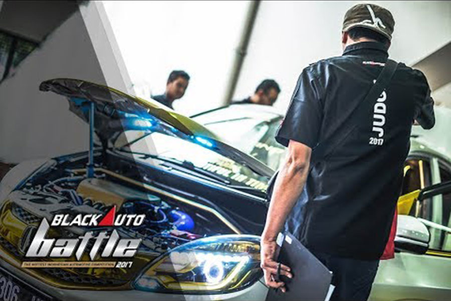 BlackAuto Modify Final BlackAuto Battle Bandung 2017