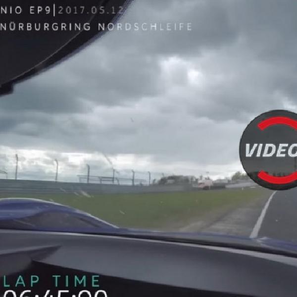 Ini Aksi NIO EP9 Pecahkan Rekor Nurburgring
