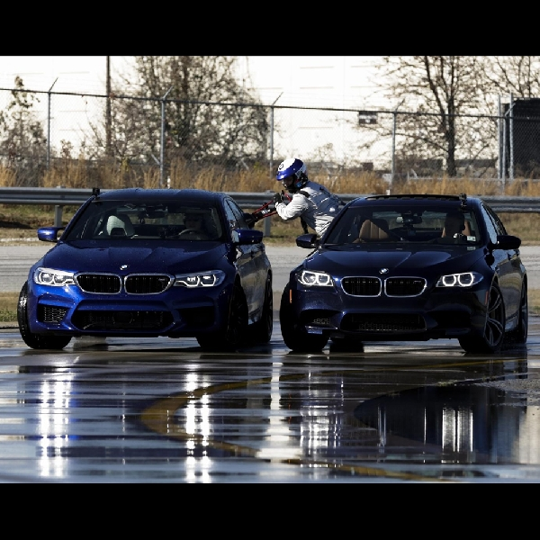 BMW Bikin Rekor Drifting Selama 8 Jam