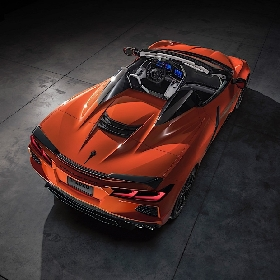 C8 Corvette Stingray dengan Rotary engine