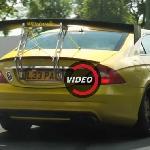 Modifikasi Mercedes Benz CLS55 AMG: Sayap Belakang yang Berlebihan