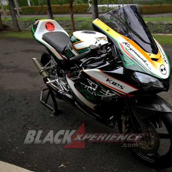 Modifikasi Kawasaki Ninja 150 RR, Racing Bike