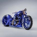 Modifikasi Harley Davidson Blue Edition X Carl Bucherer,   Estetika, Craftmanship dan Luxury